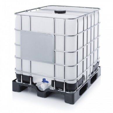 IBC konteineris (kaip naujas) 1000l