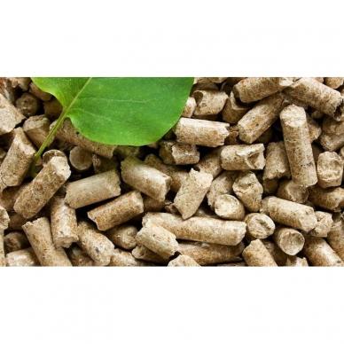 Medžio granulės fasuota 6mm (tamsi) 2